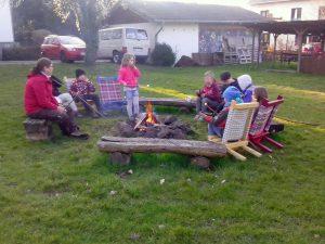 Erstes Lagerfeuer 2016 - Stamm Idubag