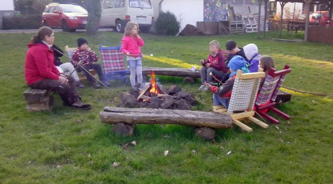 Erstes Lagerfeuer 2016