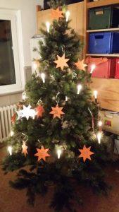 Unser Wunsch-Weihnachtsbaum.