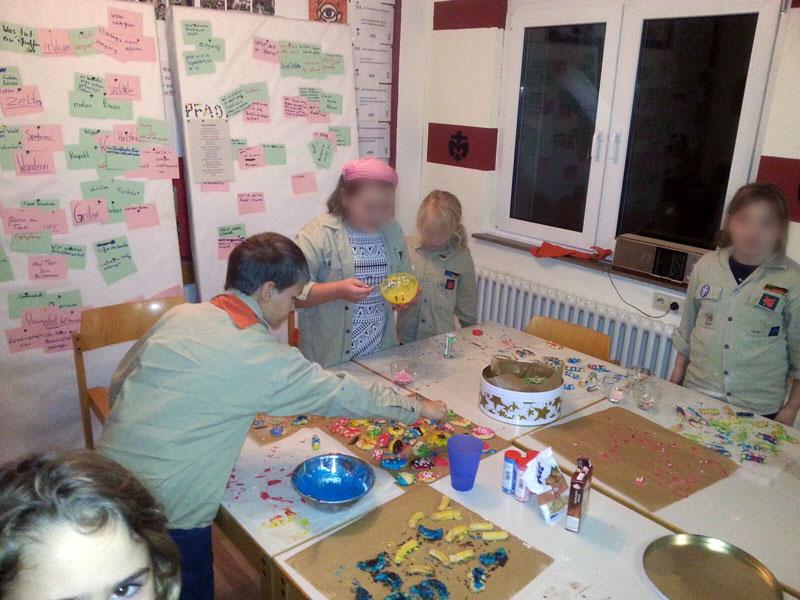 Wölflingsbäckerei / Weihnachtskeks-Werkstatt